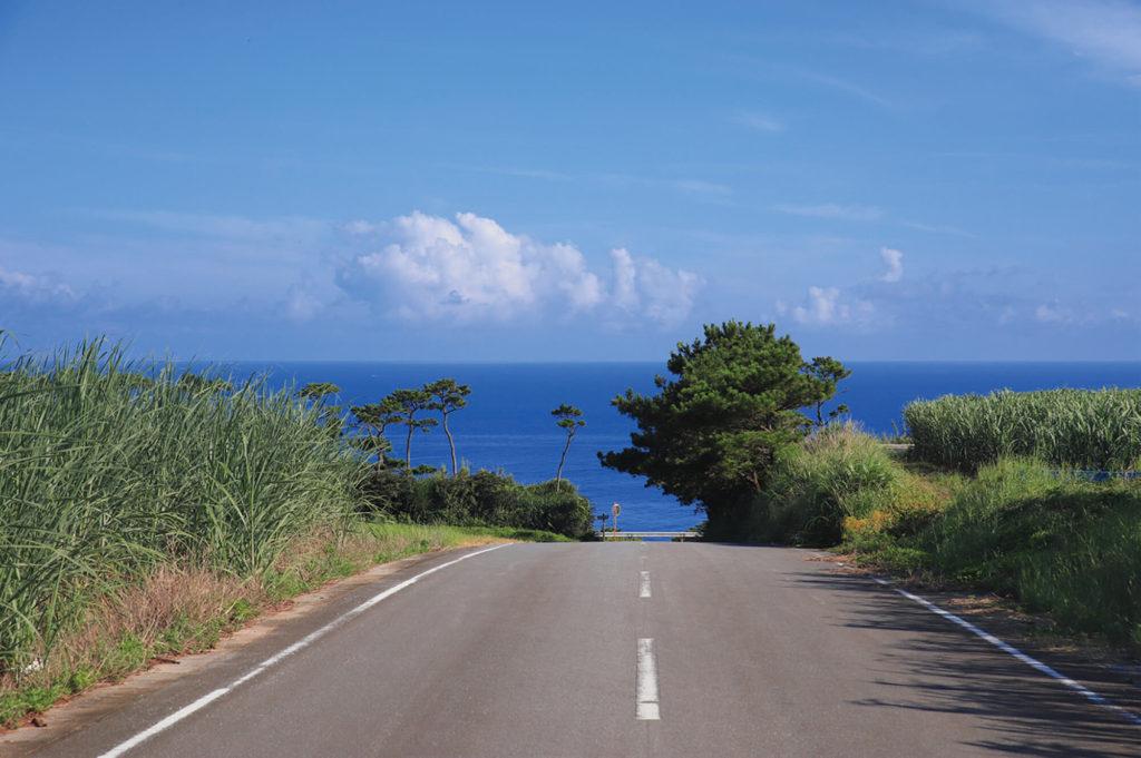 久米島一周道路